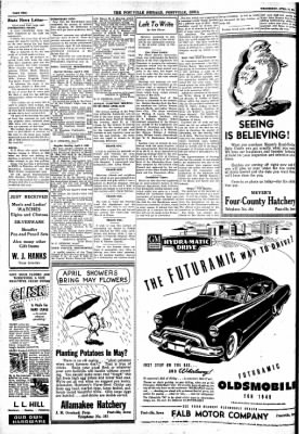 Postville Herald from Postville, Iowa on April 14, 1948 · Page 2