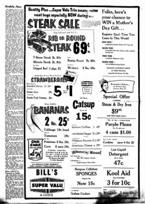 Fayette County Leader from Fayette, Iowa on May 3, 1962 · Page 8