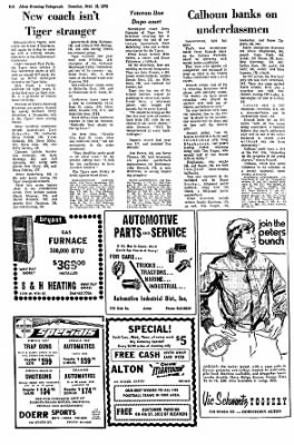 Alton Evening Telegraph from Alton, Illinois on September 12, 1972 · Page 23