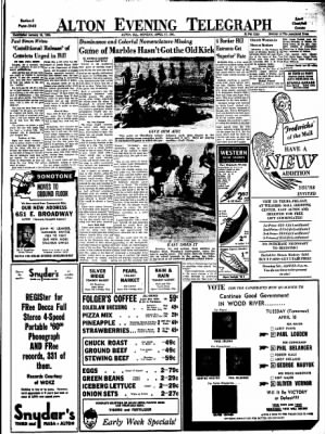 Alton Evening Telegraph from Alton, Illinois on April 17, 1961 · Page 13
