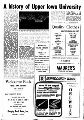 Fayette County Leader from Fayette, Iowa on September 13, 1962 · Page 19