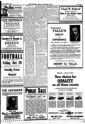 Postville Herald from Postville, Iowa on October 27, 1948 · Page 7