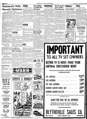 The Courier News from Blytheville, Arkansas on December 12, 1953 · Page 8