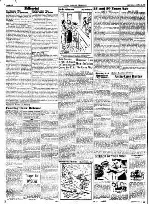 Alton Evening Telegraph from Alton, Illinois on April 15, 1953 · Page 6