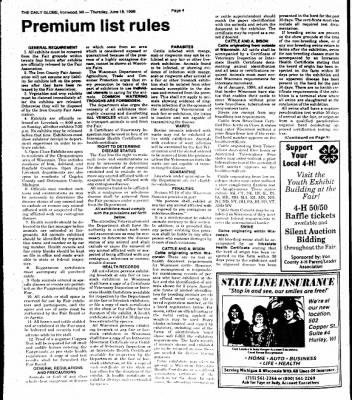 Ironwood Daily Globe from Ironwood, Michigan on June 18, 1998 · Page 11