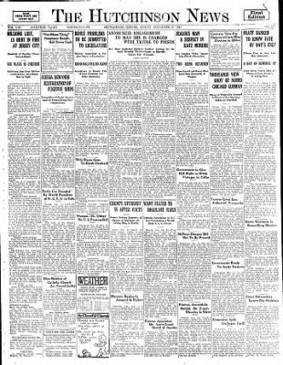 The Hutchinson News from Hutchinson, Kansas on November 14, 1924 · Page 1