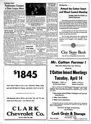 The Wellington Leader from Wellington, Texas on April 9, 1964 · Page 8