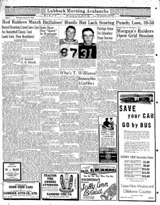 Lubbock Morning Avalanche from Lubbock, Texas on March 3, 1942 · Page 4