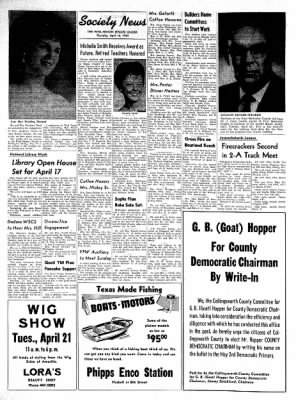 The Wellington Leader from Wellington, Texas on April 16, 1964 · Page 4