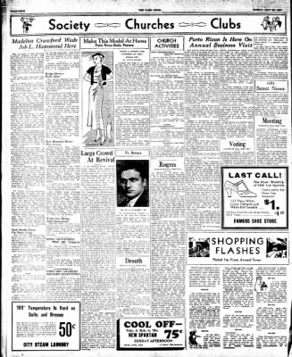The Paris News from Paris, Texas on July 22, 1934 · Page 4