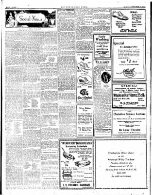The Hutchinson News from Hutchinson, Kansas on November 21, 1924 · Page 8