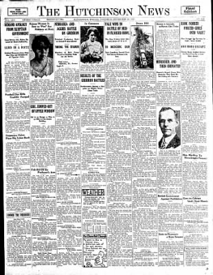 The Hutchinson News from Hutchinson, Kansas on November 22, 1924 · Page 1