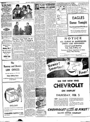 The Daily Register from Harrisburg, Illinois on January 31, 1948 · Page 2