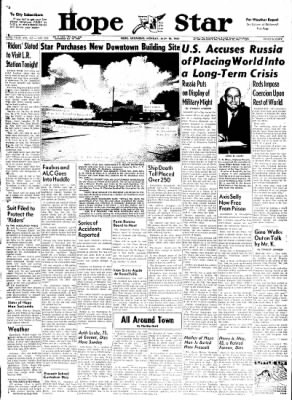 Hope Star from Hope, Arkansas on July 10, 1961 · Page 1