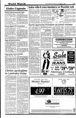 Ironwood Daily Globe from Ironwood, Michigan on September 11, 1998 · Page 4