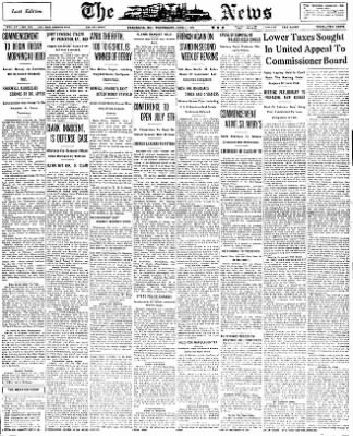 The News from Frederick, Maryland on June 1, 1932 · Page 1