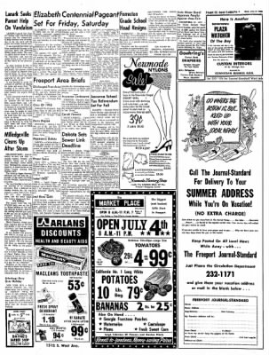 Freeport Journal-Standard from Freeport, Illinois on July 3, 1968 · Page 4