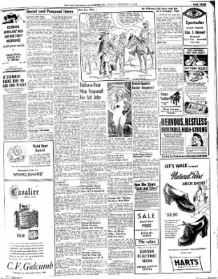 The Daily Register from Harrisburg, Illinois on February 10, 1948 · Page 3