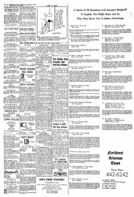 Northwest Arkansas Times from Fayetteville, Arkansas on April 27, 1974 · Page 10