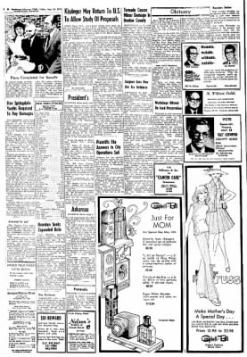 Northwest Arkansas Times from Fayetteville, Arkansas on May 10, 1974 · Page 2
