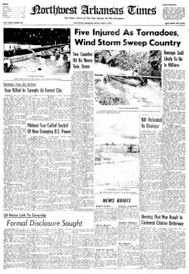 Northwest Arkansas Times from Fayetteville, Arkansas on June 7, 1974 · Page 1
