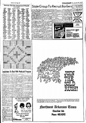 Northwest Arkansas Times from Fayetteville, Arkansas on June 30, 1974 · Page 23