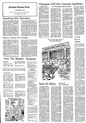 Northwest Arkansas Times from Fayetteville, Arkansas on July 10, 1974 · Page 6