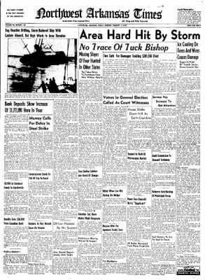 Northwest Arkansas Times from Fayetteville, Arkansas on January 4, 1952 · Page 1