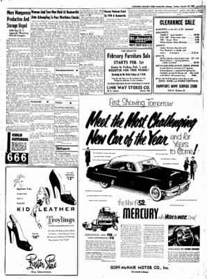 Northwest Arkansas Times from Fayetteville, Arkansas on January 29, 1952 · Page 3
