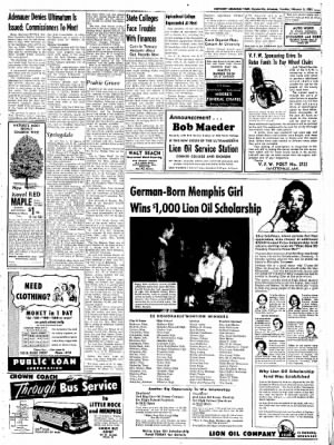 Northwest Arkansas Times from Fayetteville, Arkansas on February 5, 1952 · Page 5