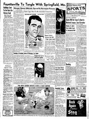 Northwest Arkansas Times from Fayetteville, Arkansas on February 15, 1952 · Page 7