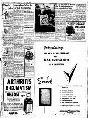 Northwest Arkansas Times from Fayetteville, Arkansas on March 4, 1952 · Page 8