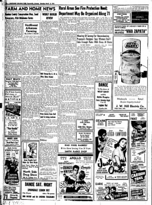Northwest Arkansas Times from Fayetteville, Arkansas on March 15, 1952 · Page 10