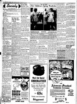Northwest Arkansas Times from Fayetteville, Arkansas on March 21, 1952 · Page 2