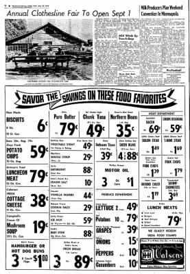 Northwest Arkansas Times from Fayetteville, Arkansas on August 28, 1974 · Page 20