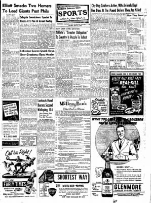 Northwest Arkansas Times from Fayetteville, Arkansas on April 17, 1952 · Page 13