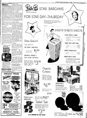 Northwest Arkansas Times from Fayetteville, Arkansas on May 14, 1952 · Page 3