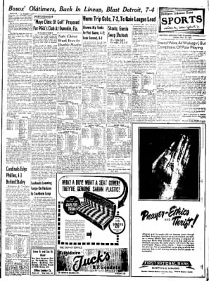 Northwest Arkansas Times from Fayetteville, Arkansas on May 19, 1952 · Page 9