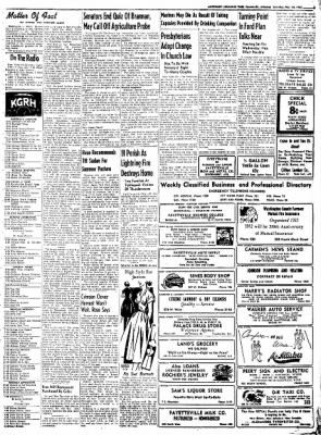 Northwest Arkansas Times from Fayetteville, Arkansas on May 24, 1952 · Page 5