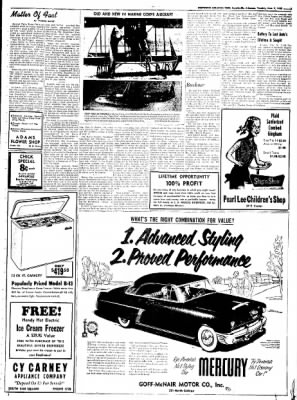 Northwest Arkansas Times from Fayetteville, Arkansas on June 3, 1952 · Page 5