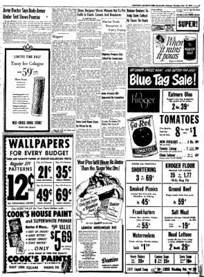 Northwest Arkansas Times from Fayetteville, Arkansas on June 12, 1952 · Page 7