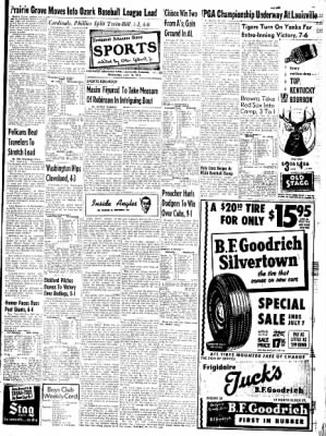 Northwest Arkansas Times from Fayetteville, Arkansas on June 18, 1952 · Page 13