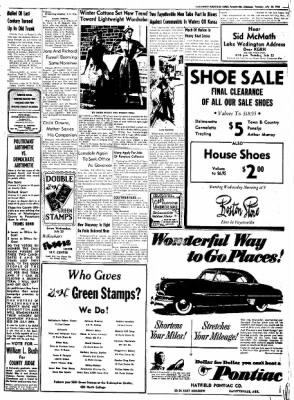 Northwest Arkansas Times from Fayetteville, Arkansas on July 22, 1952 · Page 3