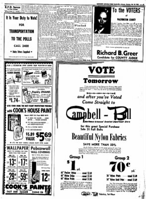 Northwest Arkansas Times from Fayetteville, Arkansas on July 28, 1952 · Page 5