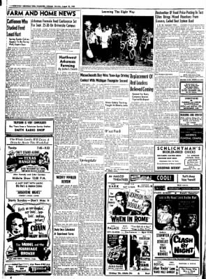 Northwest Arkansas Times from Fayetteville, Arkansas on August 23, 1952 · Page 10