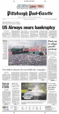 Pittsburgh Post-Gazette from Pittsburgh, Pennsylvania on September 8, 2004 · Page 1
