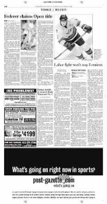 Pittsburgh Post-Gazette from Pittsburgh, Pennsylvania on September 13, 2004 · Page 36