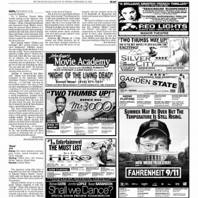Pittsburgh Post-Gazette from Pittsburgh, Pennsylvania on September 24, 2004 · Page 88