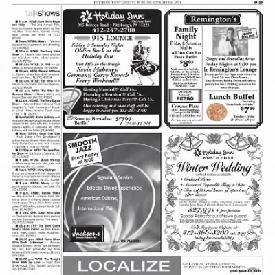 Pittsburgh Post-Gazette from Pittsburgh, Pennsylvania on September 24, 2004 · Page 98