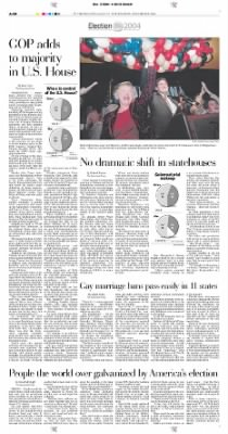 Pittsburgh Post-Gazette from Pittsburgh, Pennsylvania on November 3, 2004 · Page 28